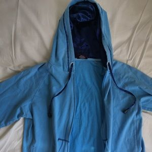 Celia Large Blue Hoodie Sweater Junior Collection